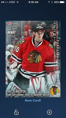 Topps Skate DIGITAL Eric Semborski Topps Now Insert - READ DESCRIPTION