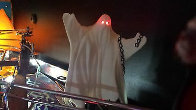 MONSTER BASH Flickering Red Eyed Ghost Pinball Mod Add On