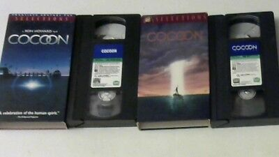 COCOON / COCOON THE RETURN VHS Don Ameche, Wilford Brimley  EXCELLENT