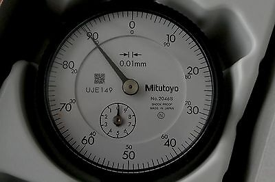 Mitutoyo 2046S Dial Indicator 10Mm 0.01Mm