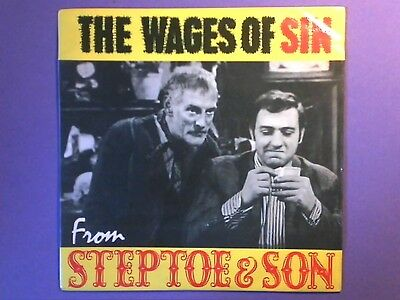 """Steptoe & Son - The Wages Of Sin (7"""" single) picture sleeve NEP 24180"""