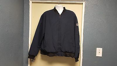 BULWARK JNT2NV Nomex Zip up Jacket Navy Size XL-R