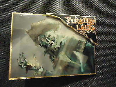 Disney Wdi Pirate's Lair Skeleton In The Moonlight Pin Le 300