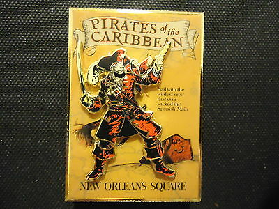 Disney Wdi Disneyland Attraction Poster Pirates Of The Caribbean Pin Le 300