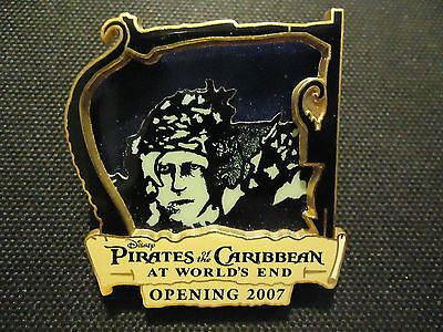 Disney Wdw Pirates Of The Caribbean At World's End Bootstrap Bill Pin Le 1500