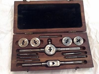 Vintage  Greenfield Little Giant  Screw and Plate tap and die set USA
