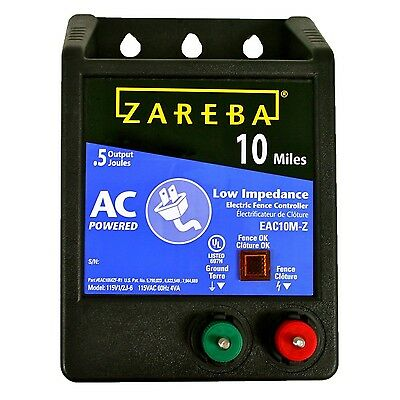Zareba EAC10M-Z 10-Mile AC Low Impedance Charger