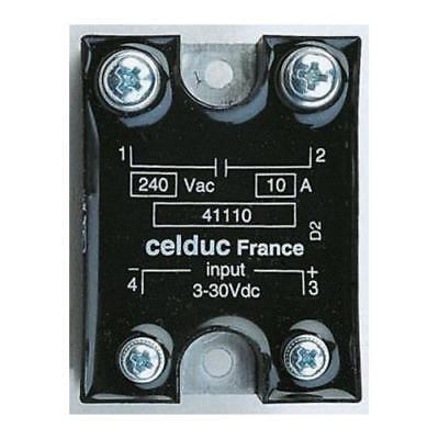 1 x Celduc Solid State Relay SC867110, Chassis Mount, 520V 75A