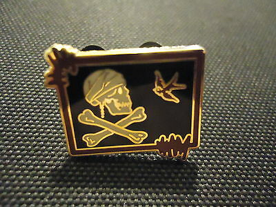 Disney Pirates Of The Caribbean At World's End Jack Sparrow's Flag Mini Pin