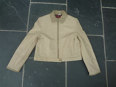 Brand New No Tags Girls Leather Dkny Biker Style Jacket Age 16 Years