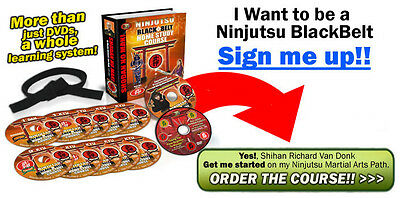 Ninjutsu Blackbelt Home Study Course