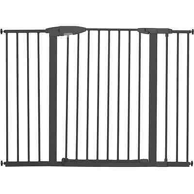 Munchkin Easy Close Extra Tall and Wide Gate, Dark Grey, Large