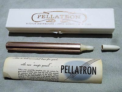 Pellatron Quack Rare Hair Removal Device with Box, Insert, Display Sleeve Michum