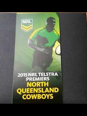 RARE 2015 $1 Nrl Ultimate Collection Coloured Coin