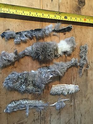 Vintage Real Fur Pieces For Crafting