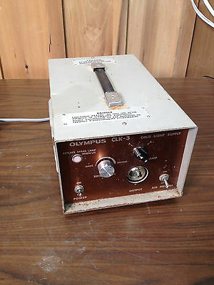 Olympus CLK-3 Cold Light Source - Tested Lamp A Working