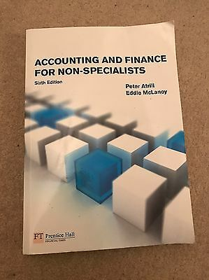 Accounting and Finance for Non-Specialists by Atrill, Dr Peter (2008) Paperback