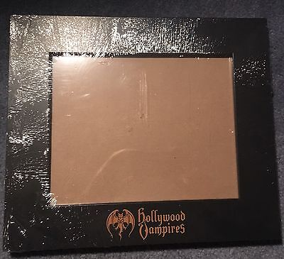 Hollywood Vampires VIP Package Picture Frame Johnny Depp Alice Cooper Joe Perry