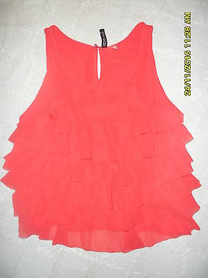 girls H.M  crop top size 6 top partywear evening casual christmas age 11,12 13yr
