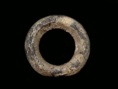 Rare Celtic Bronze Ring Proto Money Piece, Top Condition+++