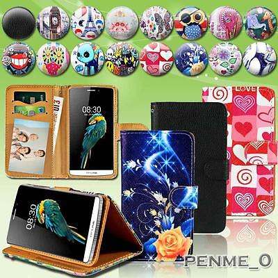 For TP-LINK Neffos C5/Y5L SmartPhones -Leather Stand Flip Card Wallet Cover Case