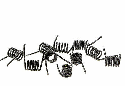 Kanthal A1 Fused Clapton Coils - 10 Pack - Boxed