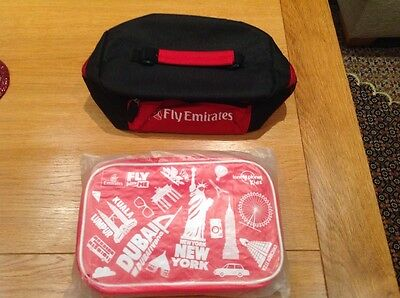 New Emirates and lonely planet kids travel bag