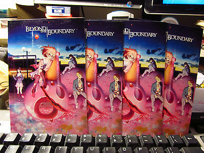 Beyond the Boundary 4 x 6 Cards - Lot of 4