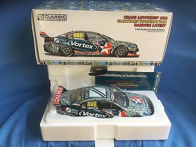 Classic Carlectables 1:18 Holden VF Commodore 2016 Lowndes Darwin Clontarf