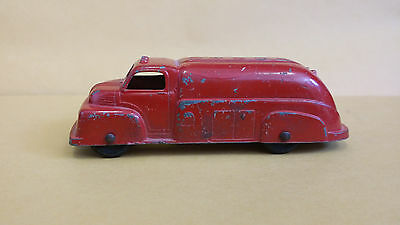 Vintage Tootsietoy Tanker Truck-Red