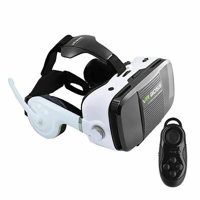 Latest Upgraded Version VR BOSS Box Virtual Reality Glasses Headset Earphone Mic