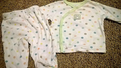 Carter's Unisex Top and Footie Pants Size 6 Months