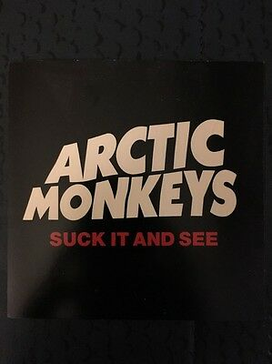 "Arctic Monkeys - Suck It And See 4""x4"" Promo Sticker"