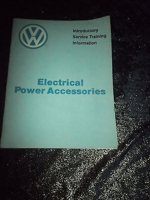 1982 ELECTRICAL POWER ACCESSORIES ~ VW Introductory Service Training Manual