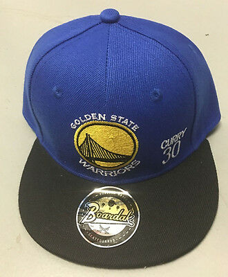 Kids Brand New NBA Golden State Cap Adjustable Cap Hat Snapback - Curry