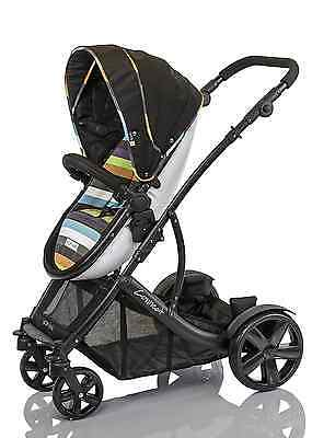 Guzzie and Guss Guzzie Plus Guss Connec Plus 4 Stroller, Stripe