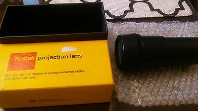 Kodak Projection Ektanar Lens 4 to 6 inches F3.5 mint in box projector camera