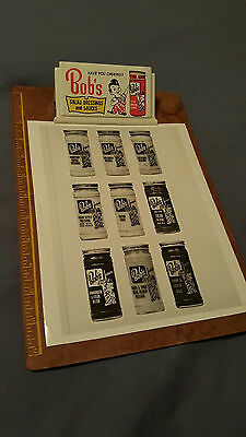 Vintage Bob's Big Boy Restaurant Salad Dressings Advertising Employee Clipboard