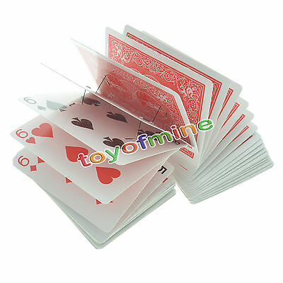 HOT Magic Electric Deck of Cards Magician Prank Trick Prop  Red Back