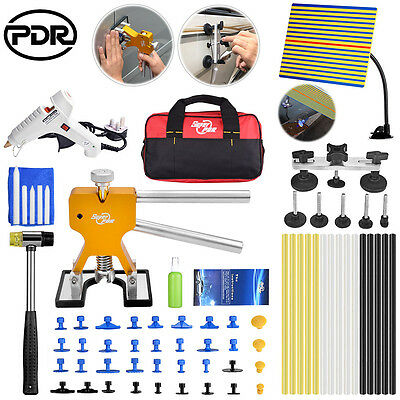 Paintless Dent Removal PDR Tool Dent Lifter Puller Bridge Hail Repair Line Board