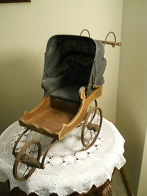 Antique Doll Carriage Style of Joel Ellis