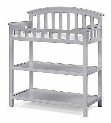 Graco Changing Table  with Pad (Gray) ~ Brand New In Box