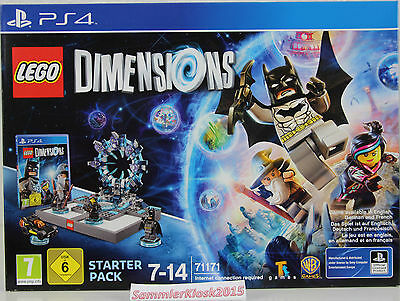 Lego Dimensions Starter Pack für Playstation 4 - 71171 Neu OVP PS4