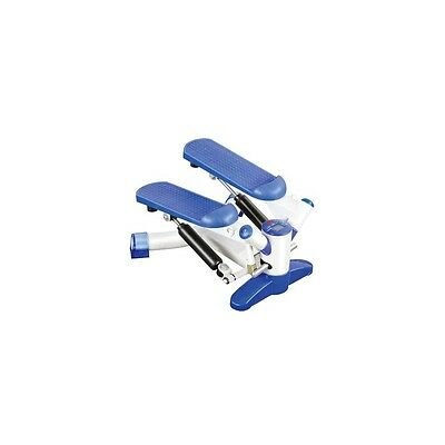 BLUE MINI DE PASOS Exercise Twist Stepper with Power Bands and Digital Display
