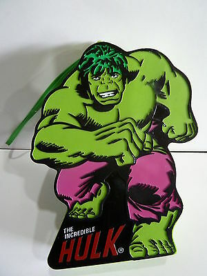 Vintage Novelty Marvel Radio In A Shape Of The Hulk Band Am-(Mw) 1970S