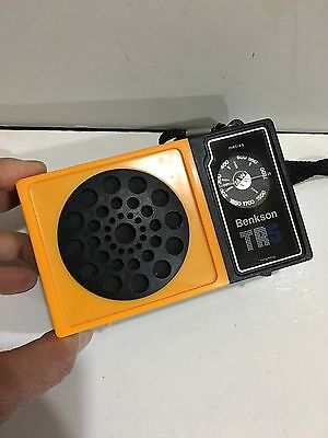 VIntage Pocket RADIO MODEL BENKSON- TR  AM(MW)- LW TWO BAND From The 1960s-1970s