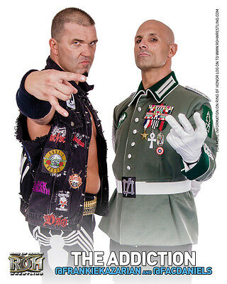 Official ROH Ring of Honor The Addiction (Daniels & Kazarian) UK 8x10