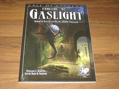 Call of Cthulhu Cthulhu by Gaslight Sourcebook SC Chaosium Inc. New 2012