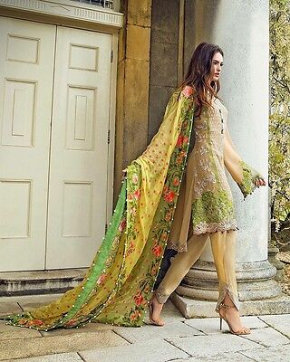 Original New Sobia Nazir Stitched Suit Chiffon Collection 2016