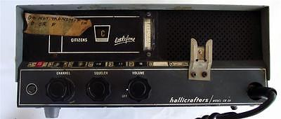 Vintage Hallicrafters Model CB-3A Citizens Littlfone radio, Pearce Simpson Mic.